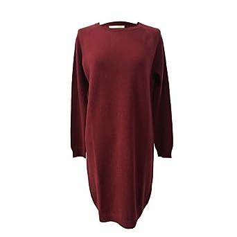 c7be23617f56 CA  VAGAN Robe Femme Jersey Bordeaux 13800 90% Laine 10% Cachemire FABRIQUÉ  en