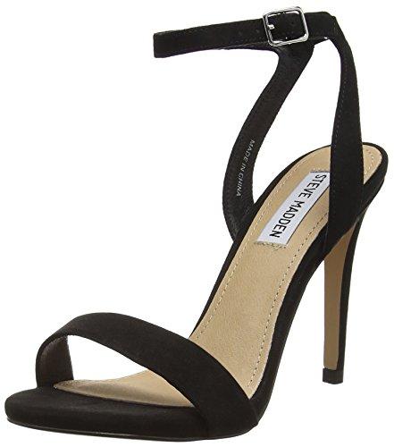 Steve Donne Calzature Madden Sarandon Sandalo Caviglia Nero (nero)