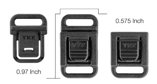 Buckle Center (25 - 3/8 Inch Center Button Quick Release)