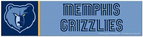 3 x 12 WinCraft NBA Memphis Grizzlies WCR53887613 Bumper Strip