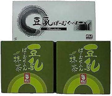 ( 産地直送 お取り寄せグルメ ) 大阪「がんこ」豆乳抹茶ばーむくーへん 2個