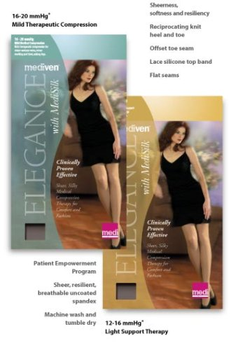 Medical & Mobility Mediven Elegance Thigh High Compression Stockings