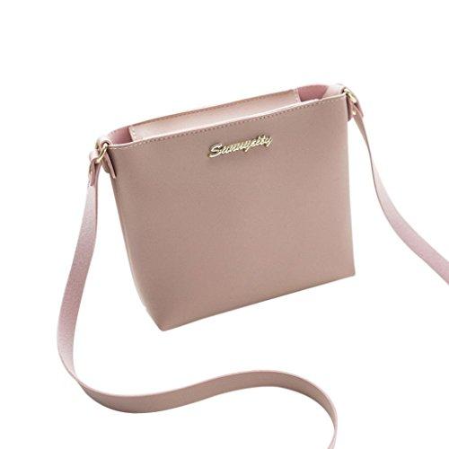 - Women Girl Crossbody Shoulder Bag,Realdo Fashion Pure Color Crossbody Messenger Phone Coin Bag