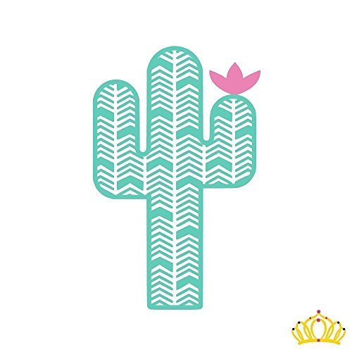 Custom Vinyl Cactus Decal Sticker for Yeti Cup, Car Decal, L