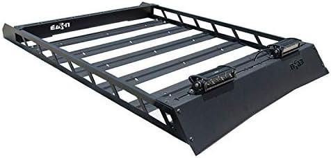 N-FAB T102MRF Textured Black Roof Rack; Aluminum Modular Roof Rack Toyota 4 Runner Fits All Styles 4 Door 10-18