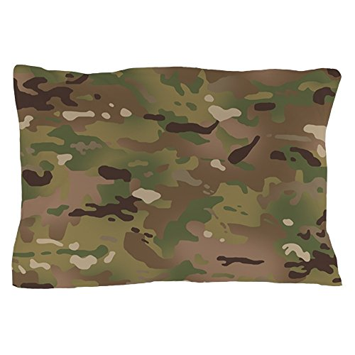 (CafePress Military Camouflage Pattern Standard Size Pillow Case, 20