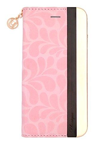 Uunique Edge Aluminium Folio für Apple iPhone 6S–Relief Pink