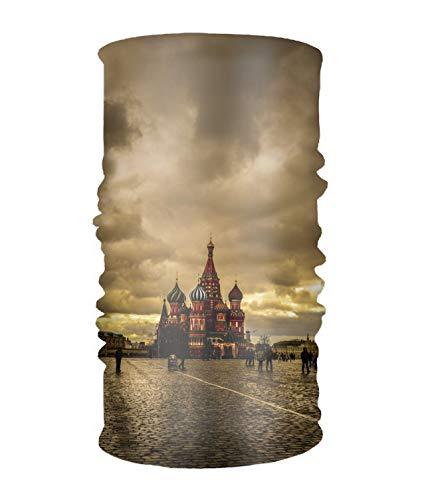 Headwear Magic Scarf Moscows Balaclava Bandana,for Men & Women Yard Work]()