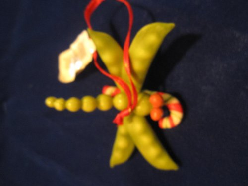 (Home Grown Peapod Dragonfly Ornament)