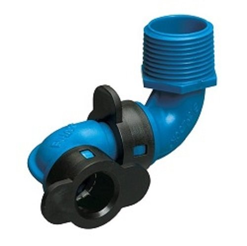 (Hydro-Rain Blu-Lock - #37986 Swing Elbow Irrigation Fitting, 1/2