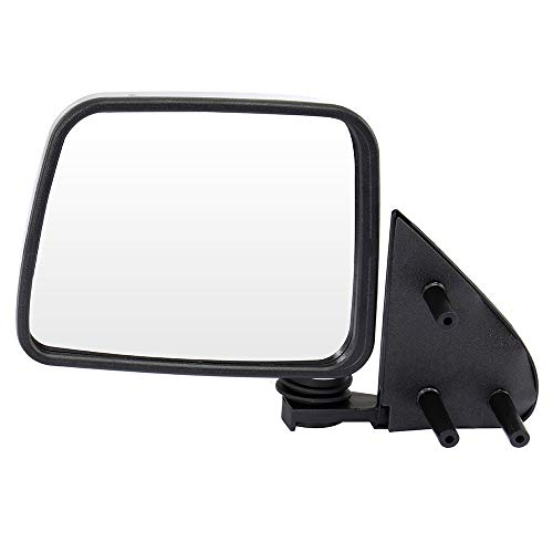 ECCPP Driver Side Mirrors, Left Side Rear View Mirrors Manual Folding Chrome Door Mirror Replacement fit for 1986-1997 Nissan Pickup 1986-1994 Nissan D21 1987-1995 Nissan Pathfinder