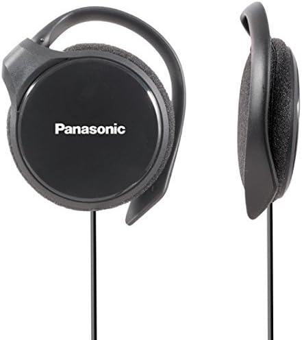 Panasonic- Rp-hs46e-k Slim Clip On Earphone - Black