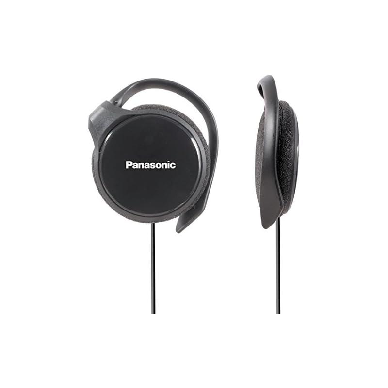 Panasonic- Rp-hs46e-k Slim Clip On Earph