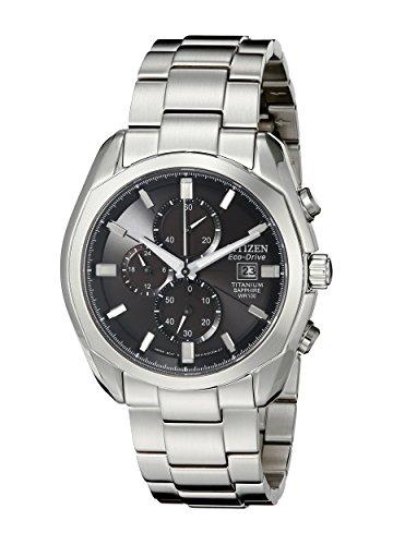 Citizen CA0020 56E Eco Drive Titanium Watch