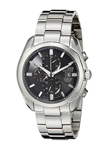 Citizen Men's CA0020-56E Eco-Drive Titanium Watch ()