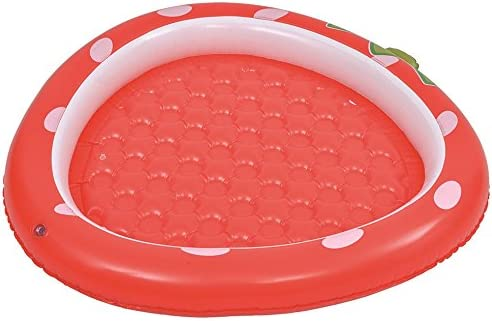 Jilong 57013 Fun Piscina Baby Fresa con Base Hinchable, Rojo ...