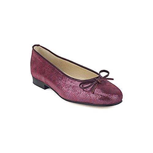 Pelle da Classica Piccirillo Bordeaux Ballerina Artigiani Donna Vera 0wqOg