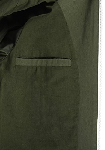 De Con Bibi Para Mujer Chaqueta Blendshe Abrigo Green Algodón Capucha 70595 100 Dusty Entretiempo dEXqx0Xwf