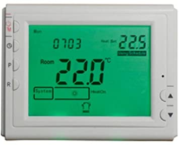 Termostato digital para la regulación de encendido los radiadores y la temperatura de ejercicio cronotermostato