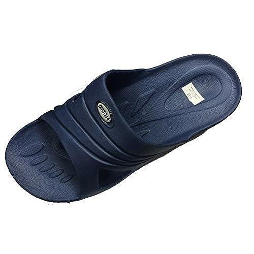 eb715395178 delicate Suave Men s Rubber Sandal Slipper Comfortable Shower Beach Shoe  Slip On Flip Flop