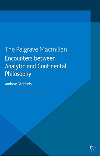 Download Encounters between Analytic and Continental  Philosophy (Language, Discourse, Society) Pdf