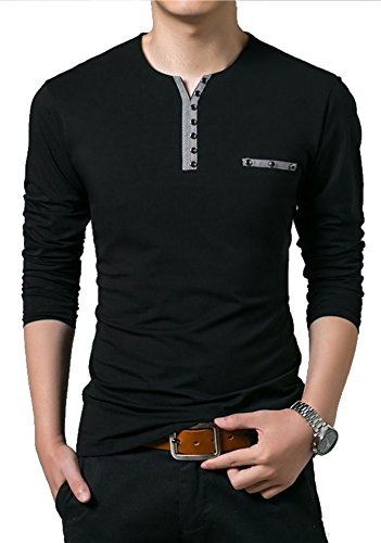 EYEBOGLER Regular Fit Men s Cotton T-Shirt (XL-T3-BL, Black, X-Large ... f21ebe62be