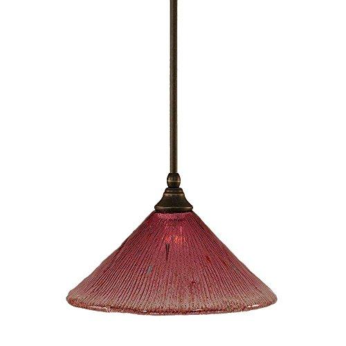 Toltec Lighting 23-DG-784 Stem Mini Pendant with Hang Straight Swivel with 12