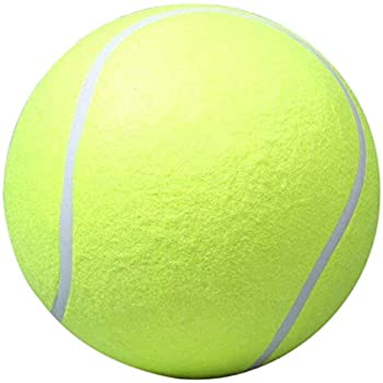 Pet Supplies : Alloet Pet Dog Big Tennis Ball, 24cm/9