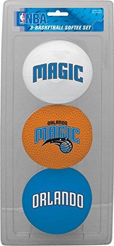 - NBA Orlando Magic Kids Softee Basketball (Set of 3), Small, Blue