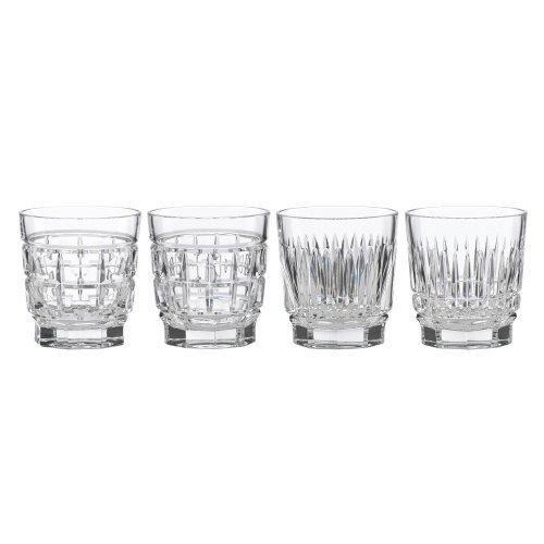 Reed & Barton, Thomas O'Brien New Vintage Whiskey Glasses set of 4 - Barware Thomas Obrien