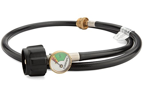 Cuisinart QG-008H LP Adapter Hose with Tank Gauge, ()
