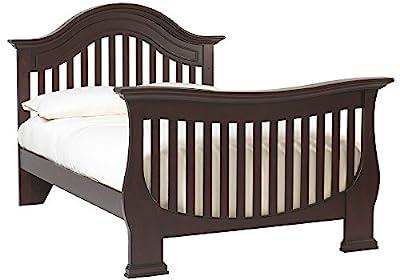 Full Size Conversion Kit Bed Rails for Baby Cache Monaco Cribs - Espresso