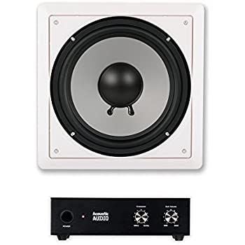 "OEM SYSTEMS SE-80SWF 8/""/"" In-Ceiling//In-Wall Frameless Subwoofer"