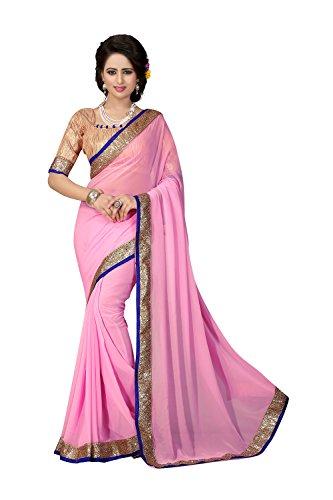 12 Sarees Donne Party Wedding 12 Da Designer Rosa Saree Facioun Facioun Sarees Wedding Tradizionale Da Sari Traditional Women Indiano Partito Wear Designer Indian Pink Indossare xYZSFqYw6