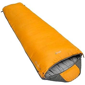 Vango Planet 150 - Saco de dormir con mosquitera amarillo amarillo Talla:1 persona: Amazon.es: Deportes y aire libre