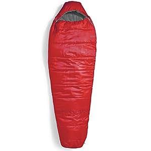 EMS Solstice 20 Sleeping Bag, Regular Chili Pepper/Pewter Red LEFT ZIP
