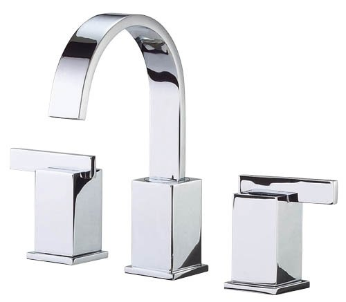 - Danze D304044 Sirius Two Handle Widespread Lavatory Faucet, Chrome