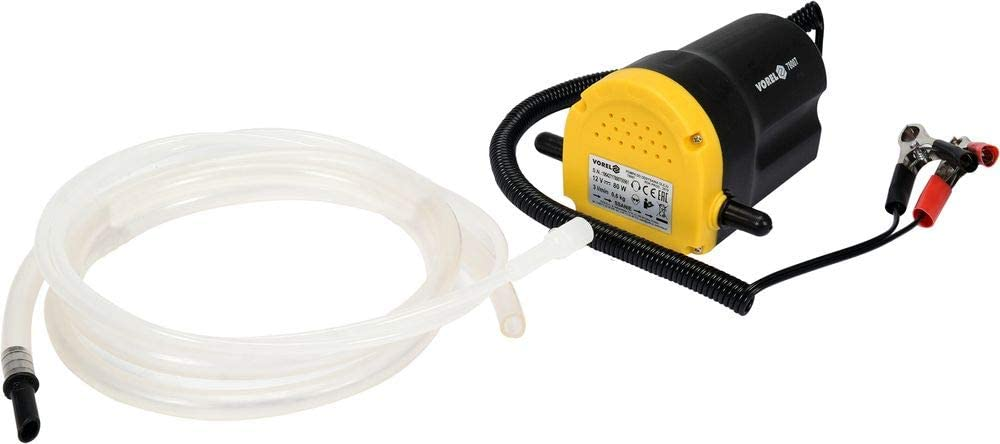Vorel elektrische /Ölabsaugpumpe 12V /Ölpumpe Absaugpumpe Dieselpumpe Pumpe /Öl 80 Watt 3 Liter//min