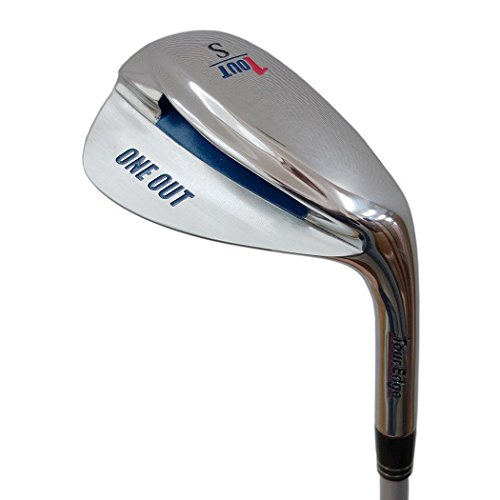 Tour Edge Men's Bazooka One Out Wedge (Right Hand, Steel, Uniflex, SW Iron)