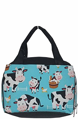 NGIl Insulated Lunch Bag 2018 Collection (Cow Aqua Blue)