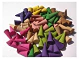 Thailand Incense Cones Mixed Variety of Scents (Pack of 100 Cones) Thailand Product 1 pact.