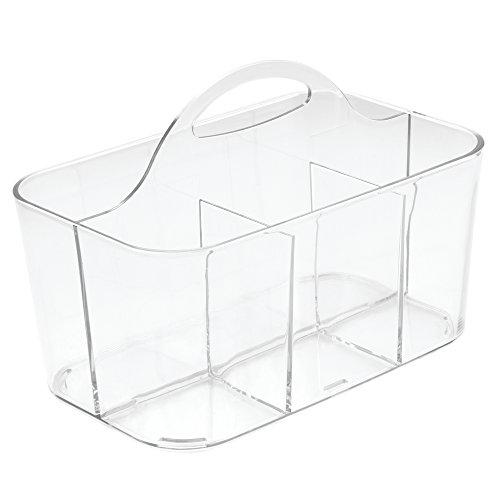 InterDesign Clarity Bath Caddy Clear