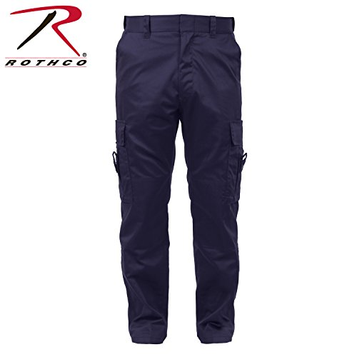 Navy Emt Pants - Rothco Deluxe Emt Pants, Navy Blue, 32