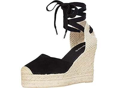 Amazon.com: Soludos Mallorca Cuña Espadrilles para mujer: Shoes