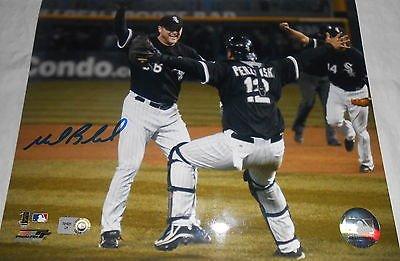 Mark Buehrle Chicago White Sox Signed 8x10 No Hitter MLB HOLO
