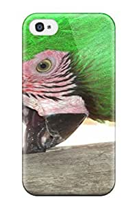 Hot Tpu Cover Case For Iphone/ 4/4s Case Cover Skin - Parrot Animal Other