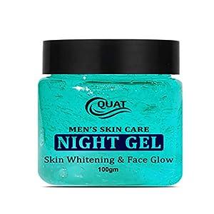 Quat Skin Care Night Gel Skin Whitening &Face Gel for Glowing Skin,Oily Skin,Women,Men (100gm)