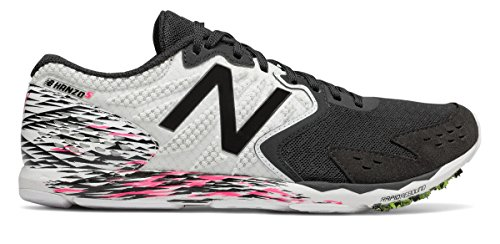 有名なスノーケル暴行(ニューバランス) New Balance 靴?シューズ レディースランニング Hanzo S Black with White ブラック ホワイト US 7 (24cm)