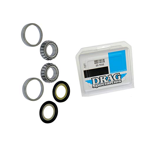 Genuine Drag Neck Stem Post Bearing & Race Repair Kit Replacement comp w/Harley Quick Delivery (Bearing Post Neck)