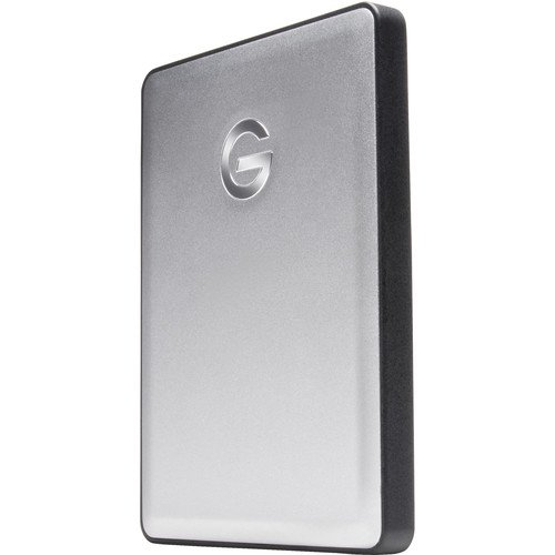 G-TECHNOLOGY G-DRIVE MOBILE 2TB USB 3.0/3.1